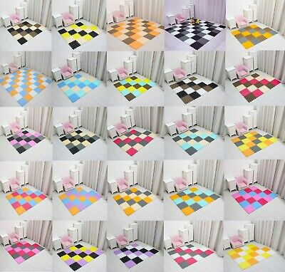 30.pieces  Interlocking EVA Soft Foam Mat Kids Play Tiles Babies Mat Gym Fitness