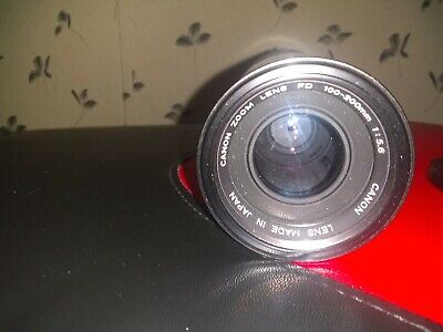 Canon Zoom Lens FD 100-200mm 1:5.6  Camera Lens~ with caps
