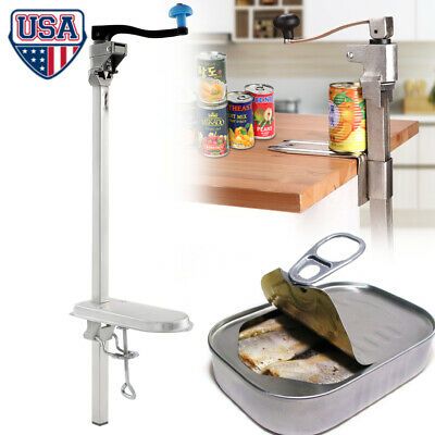 Large Heavy-Duty Commercial Kitchen Restaurant Food Lid Can Opener Table