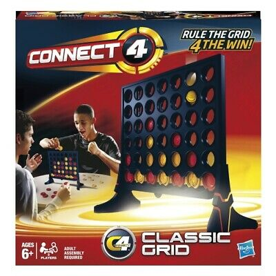 Hasbro Connect 4 | Classic Grid Game | Brand New