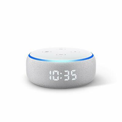Amazon Echo Dot 3rd Generation Smart Speaker with Clock and Alexa - Sandstone