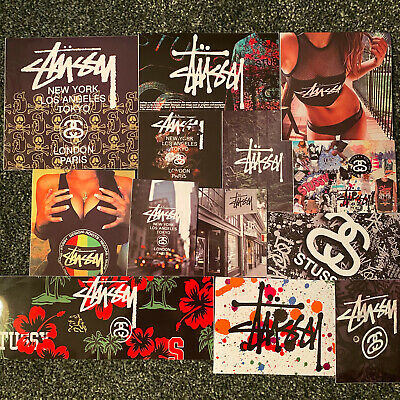 Stussy Sticker Vinyl Custom New *PICK YOUR OWN* Hypebeast Brand Skate