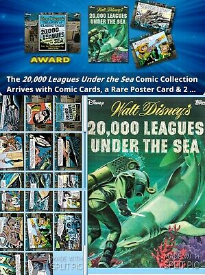 Topps Disney Collect Card Trader 20000 Leagues Under Sea Comic Collection Set
