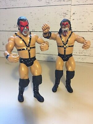 Demolition Ax Smash Wrestling Figure Classic Superstars WWF WWE Jakks Loose