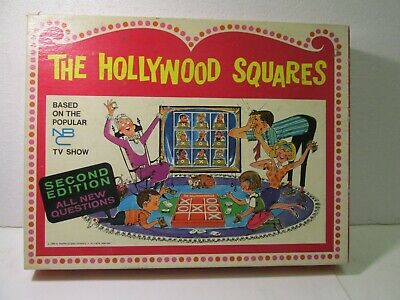 Heatter-Quigley The Hollywood Squares Second Edition Game 1968  gm1284