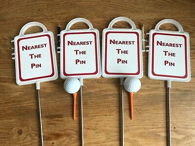 4 Nearest the pin markers medium size