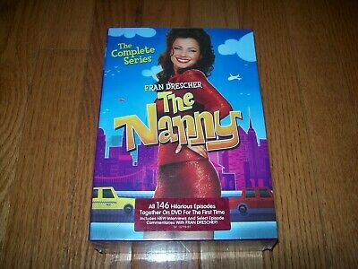 Brand New Sealed. The Nanny the complete series on DVD. Seasons 1-6.