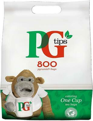 PG tips 460, 800, 1100, 1150 One Cup Pyramid Tea Bags Everyday for Tea Lovers