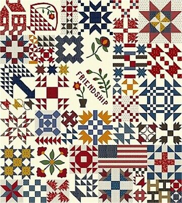Temecula Album Quilt Kit by Sheryl Johnson for Marcus Fabrics