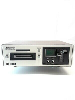 Vintage Panasonic RS-805US 8Track Stereo Record Deck 1970's