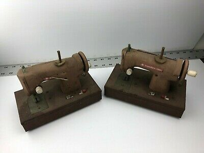 2X) Signature Junior Battery Operated Sewing Machines