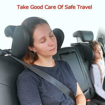 Car Seat Pillow Headrest Neck Support For Kids Adults Travel Cushion Sleepi T9Y3
