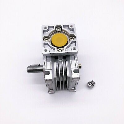 5:1 Worm Gear Reducer Speed Gearbox NMRV030 for NEMA23 Sevor / Stepper Motor