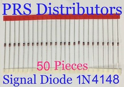 Diode 1N4148 Fast Switching Signal Diode Replaces Diode 1N914 50 Pcs USA Seller