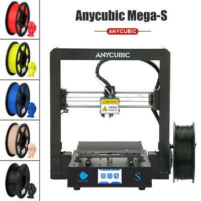 "Anycubic High Precision Impresora 3D Printer Mega-S Metal Frame 3.5""TFT PLA DIY"
