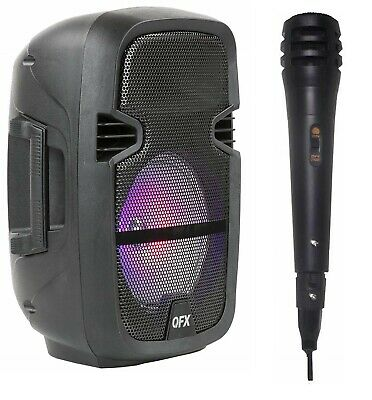 4,400 Watts Wirelessly Portable Party Bluetooth Speaker W/ Microphone &  Remote