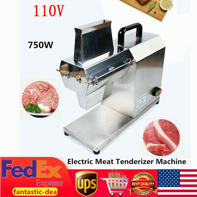 750W Electric Meat Tenderizer Machine for Beef Fillet Beefsteak Stainless Steel