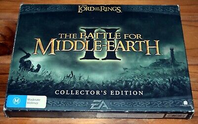 The Lord of the Rings The Battle for Middle Earth II Collector's Edition PC Game