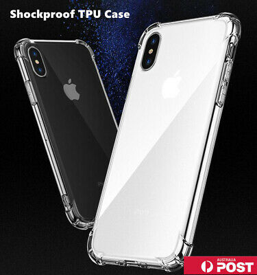 Clear Shockproof Bumper Back Case Cover for iPhone 11 Pro XS MAX X XR 7 8 Plus