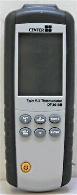 Center DT-3610B Type K/J Thermometer