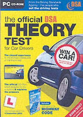 The Official DSA Theory Test for Car Drivers: Valid for Tests Taken from 4th Sep