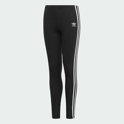 adidas Originals black cotton full length leggings. Various sizes!