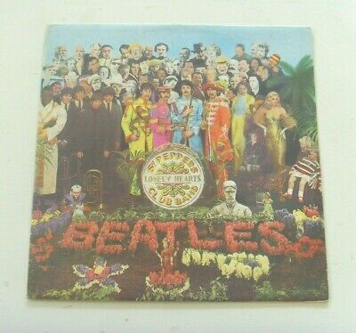 The Beatles - Sgt. Pepper's Lonely Hearts Club Band: 1976 Italy Reissue (VG+/EX)