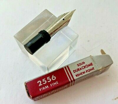 Esterbrook Fountain Pen Nib - 2556 Firm FINE for General writing Mint in Box