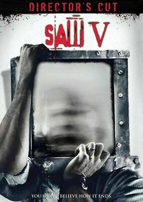 Saw V: Director's Cut [DVD] New and Factory Sealed!!