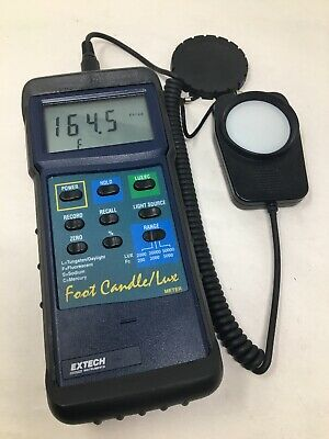 Extech 407026 Foot Candle/Lux Heavy Duty Light Meter With Stand