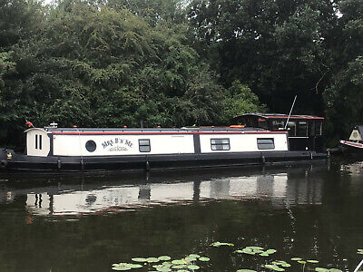 """Mrs B & Me"" 57ft x 12ft Widebeam Canal Boat"