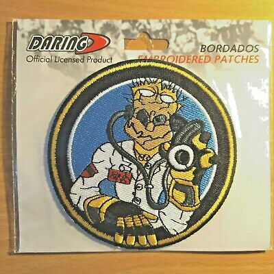 "Patch écusson brodé VALENTINO ROSSI ""The Doctor"" Grand Prix Moto GP"