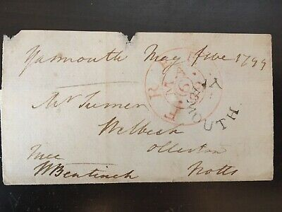 Lord William Bentinck - Soldier & Statesman In India - Signed Envelope Front