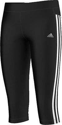 Adidas Children 3/4 Tight Trackies Clima Training Core D89230