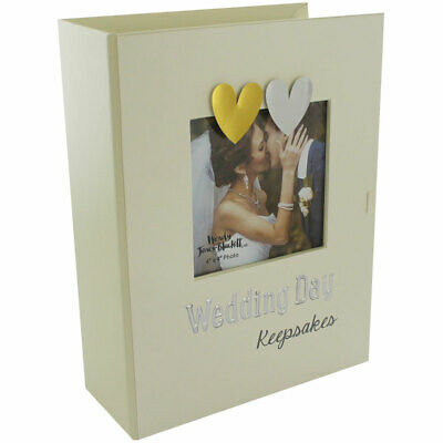 Wedding Day Keepsake Box with drawers & Photo Frame -Ideal Gift, Bride must have