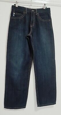 Boys Clothes Age 12 Yrs M&S Classic Casual Regular Fit Dark Blue Jeans