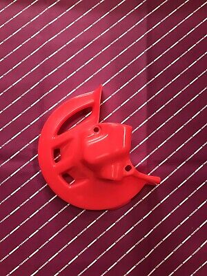 Cr 125 250 500 1995-1999 Disc Cover Guard Ufo Nuclear Flo Red Honda