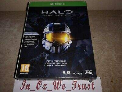 Halo: The Master Chief Collection - Limited Edition (Microsoft Xbox One, 2014)