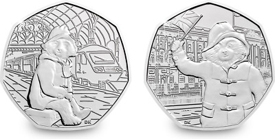 Paddington Bear 50p coin  2018/2019 Coins STATION / BUCKINGHAM PALACE/ ST PAULS/