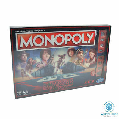 Monopoly: Stranger Things Edition Netflix 80s Board Game Hasbro. Sealed