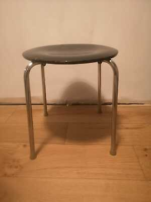 Vintage Industrial 1960s Danish Stool.