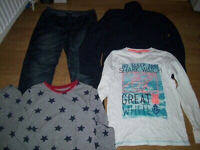 Boys winter bundle of clothing. Age 13-14 years.Jeans, pyjamas,top and shirt.
