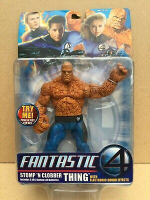 Fantastic 4. Stomp 'N Clobber Thing with sound FX. BNIB. 2005