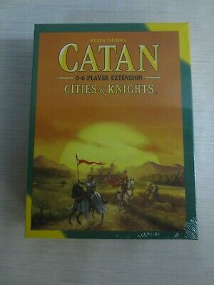 Catan 5th Edition Cities & Knights 5-6 Player Extension Board Game