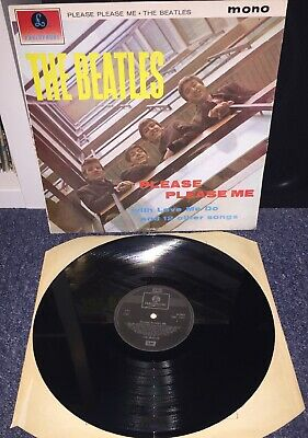 The Beatles-please please me vinyl Lp Record Album 60s Rock Pop John Lennon