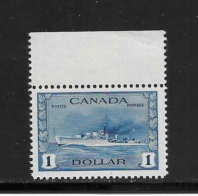 Canada King George Vi War Issue $1 Dollar Destroyer # 262  Nh   Great Deal