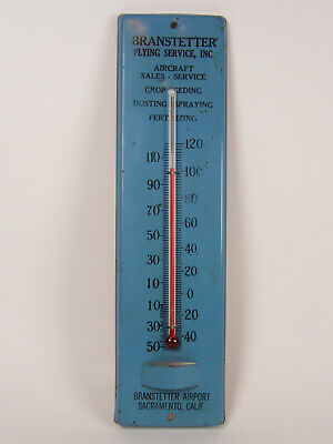 Reid/'s Seeds ~ Embossed Tin Thermometer ~ Negro Woman holding a Watermelon Slice
