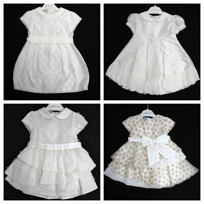 CICCINO Baby Girl Ceremony Occasion Dress Italian Made RRP$200 #116