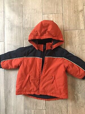 The Childrens Place winter jacket 12 Months Boys Waterproof All Weather Hooded