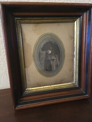 Antique Framed Picture From The Late 1800'S / Early 1900'S Looks Fantastic - Vtg